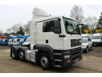 2007 MAN / ERF 15/38 TG-A 44 Ton Tractor Unit Trailer Sleeper Cab Lorry
