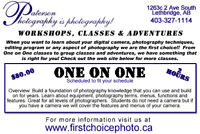 Photography Courses & Workshops
