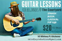 Beginners Summer Guitar Lessons Special!