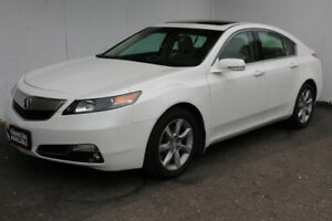2014 Acura TL w/Tech Pkg Navi Back camera Sunroof Leather Heated