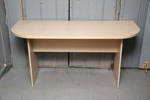 Beech finished table