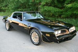 WANTED 1977 - 1981 TRANS AM