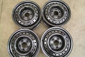 "4-15"" 5 BOLTx114.3(4.5) STEEL RIMS, CAN SELL SINGLES"