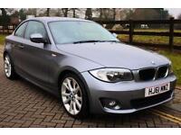 2011 61 BMW 1 SERIES 2.0 120D SPORT 2D 175 BHP DIESEL