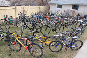 I am going to sell more than 200 all types of bikes,Mountain,BMX