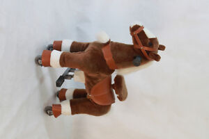 Ride on toy horses/ fun and exercise machine in one!