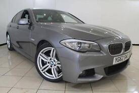 2012 62 BMW 5 SERIES 2.0 520D M SPORT 4DR 181 BHP DIESEL