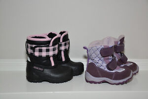 Baby Girl Boots - Size 3