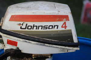 4hp Johnson Motor