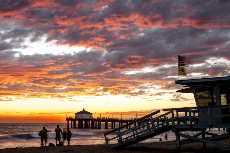 Dieser Strand dürfte vielen Serien-Fans bekannt vorkommen: der berühmte Manhattan Beach. (Bild: Thinkstock via The Digitale)