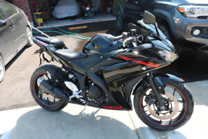 2015 Yamaha R3 Low low Km ready to ride