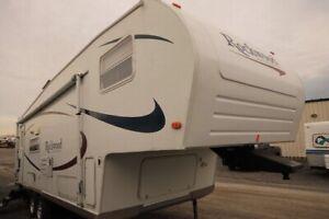 5 wheel 28 foot trailer
