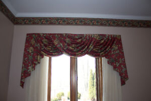 Custom Formal Window Valences
