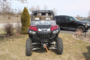 REDUCED! 2015 POLARIS RZR TRAIL 900 EPS SUNSET RED SIDE BY SIDE