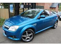 2008 (08 Plate) Vauxhall Tigra 1.4 Blue Lovely Example Hard Top Convertible Car