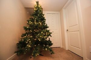 CHRISTMAS TREE - 7 FOOT - artificial $65