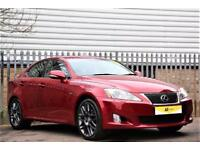 2011 Lexus IS 2.2 TD F Sport 4dr (Multimedia) Diesel red Manual