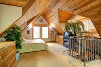 Cottages (2) in Bala, Muskoka w 5 bedrooms and great SW exposure