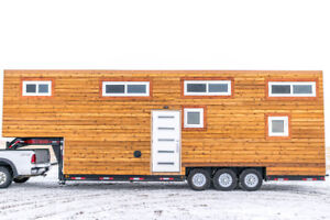 Brand New Custom Luxury Tiny Home For Sale (Off Grid Capable)