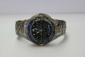 **CLASSY** Citizen Blue Angels Mens Chronograph Watch (#1879)