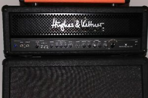 HUGHES&KETTNER TUBE 100W HEAD WITH FOOTSWITCH-MADE IN GERMANY