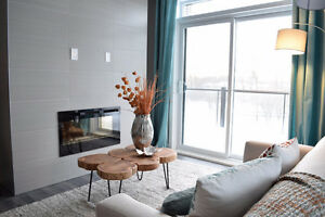 15 mins to downtown Ottawa from these brand-new Aylmer apts!