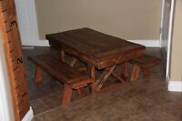 Rustic Furniture (Toddler Tables, Benches, Coffee Tables, Etc)