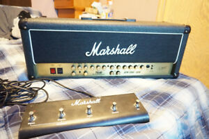 JCM 2000 TSL 60 3 channel head with foot switch NEW TUBES