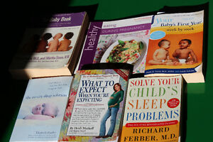 Selection of Pregnancy and Parenting books