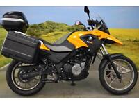 BMW G650GS 2013**TOURING LUGGAGE, BREMBO BRAKES, CENTRE STAND**