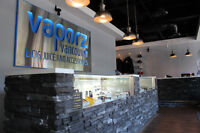 Looking for part time staff at Vaporz Vancouver