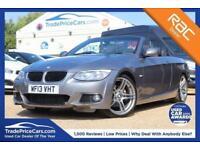 2013 13 BMW 3 SERIES 2.0 320D M SPORT 2D AUTO 181 BHP DIESEL