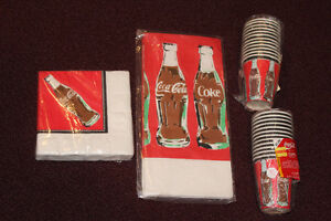 From 1993 - 4 piece matching set from Coca-Cola