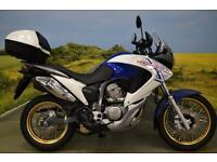 Honda XL700 Transalp 2011 ** TOP BOX, 1802 MILES, HEATED GRIPS, H.I.S.S **