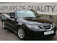 Saab 9-3 1.9TiD 2009 Linear SE Convertible PX TO CLEAR BARGAIN PRICE!!!