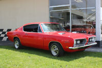 Plymouth Barracuda 1969   REDUIT!!$$