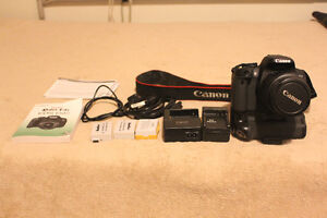 Canon Rebel T4i EOS 650D- Will throw in 18 x 55 mm lens