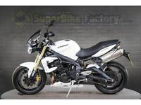 2012 12 TRIUMPH STREET TRIPLE 675 675CC 0% DEPOSIT FINANCE AVAILABLE