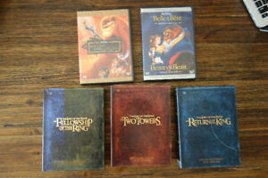 Lord of the Rings Special Editions 3 BOX SETS, WALT DISNEY
