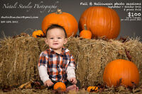 $100 · Fall & Halloween photo sessions