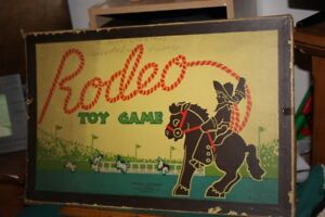 Rodeo Toy game