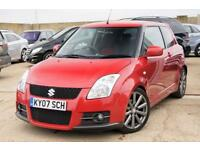 SUZUKI SWIFT 1.6 SPORT 125BHP SAPPHIRE RED SERVICE HISTORY + JUST SERVICED