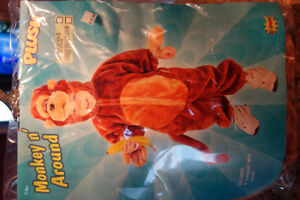 Costume d'Halloween Singe (Toddler 2-4)