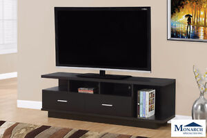 "Brand NEW Cappuccino 60"" TV Stand w/2 Drawers! Call 519-895-0012"