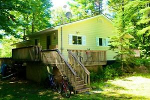 Furnished Home on Muskoka River for Short Term Rental