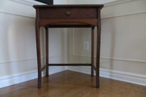 Antique table/desk with drawer