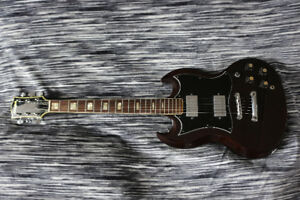 Guitare Electrique El Dégas SG  1975 Japan Copie Gibson Lawsuit