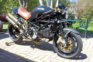 2004 Ducati Monster S4R Café Racer Motorcycle 996 – Many Extra's