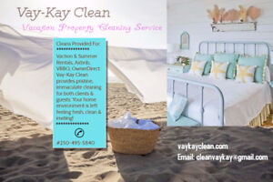 Vacation Property Cleaning Service