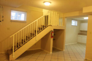 Two bedrooms basement suite for rent